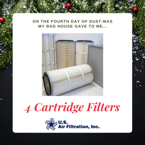 Four Cartridge Filters