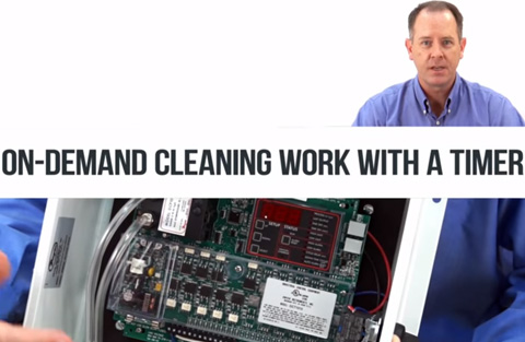 How Does On Demand Cleaning Work with a Timer