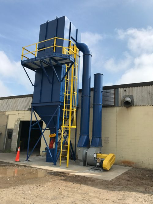 Flooring Plant Baghouse Dust Collection System 2